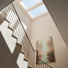 Contemporary Staircase by citidev, inc