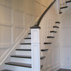 Traditional Staircase by CP Stairmasters Inc.