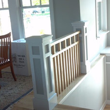 Craftsman Staircase by Artizan remodeling & fine finish carpentry