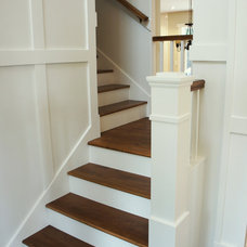 Traditional Staircase Craftsman House Interior