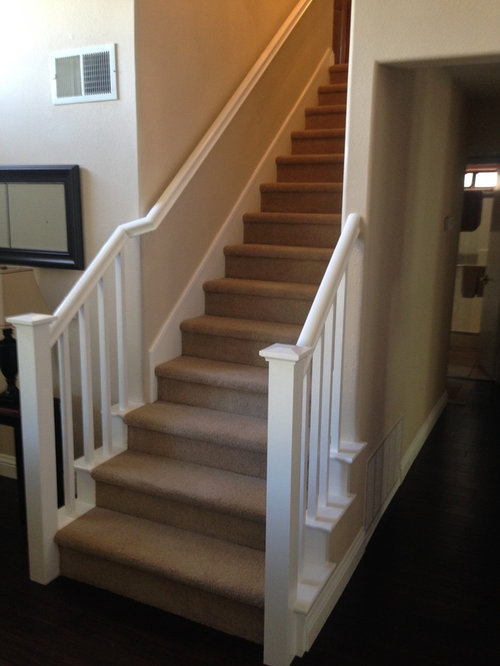 Craftsman Stair Railing Home Design Ideas Pictures