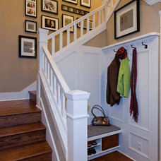 Traditional Staircase by Angela Todd Designs, Portland, OR