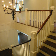 Craftsman Staircase by Dresser Homes