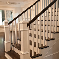 Transitional Staircase by Ridgewater Homes Inc