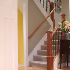 Craftsman Staircase by New Urban Home Builders