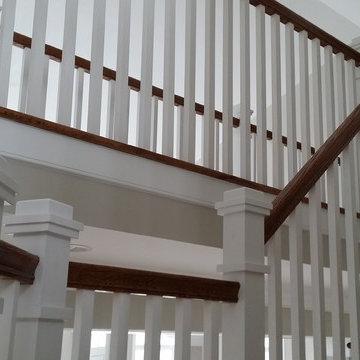 Craftsman Style Stair Railing