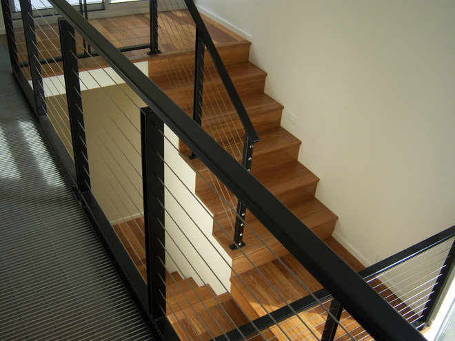 Modern Staircase by Spore Design