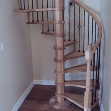 Traditional Staircase by American Stair and Rail Artisans