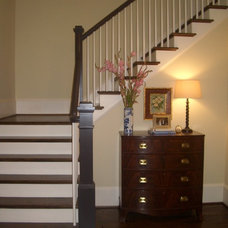 Traditional Staircase by Neal Creech