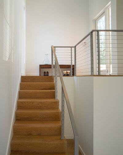Современный Лестница by Studio MM Architect, pllc