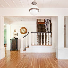 traditional staircase by BAY WEST BUILDERS
