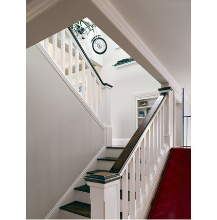 traditional staircase by Chr DAUER Architects
