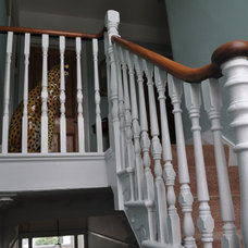 Traditional Staircase by Dawn Rennie Interiors