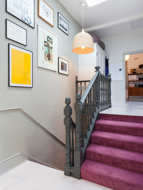 Painted Banister Houzz
