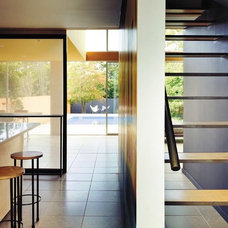 Modern Staircase by Roger Hirsch Architect