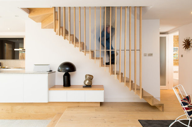 Scandinavian Staircase by Martyn Clarke Architecture