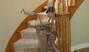 Curved Stair Lift 704-281-7646