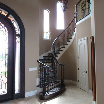 Curved Stair Project. Wallingford Res