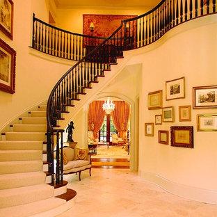 Elegant staircase photo in Atlanta