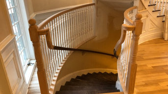 Curved Wood Railing Projects