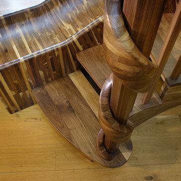 Curved Wood Slide