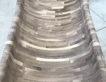 Curved Wood Slide