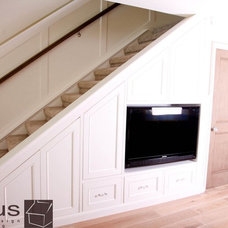Staircase by APlus Interior Design & Remodeling