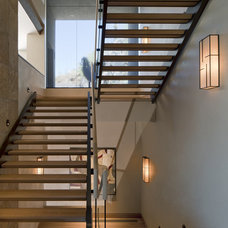 Contemporary Staircase by Swaback Partners, pllc
