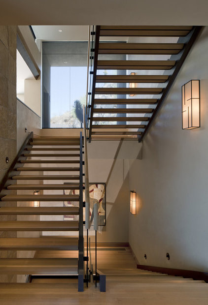 Southwestern Staircase by Swaback Partners, pllc