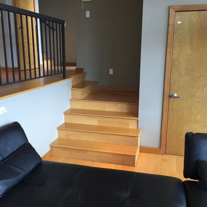 Custom Beech Wood Staircase