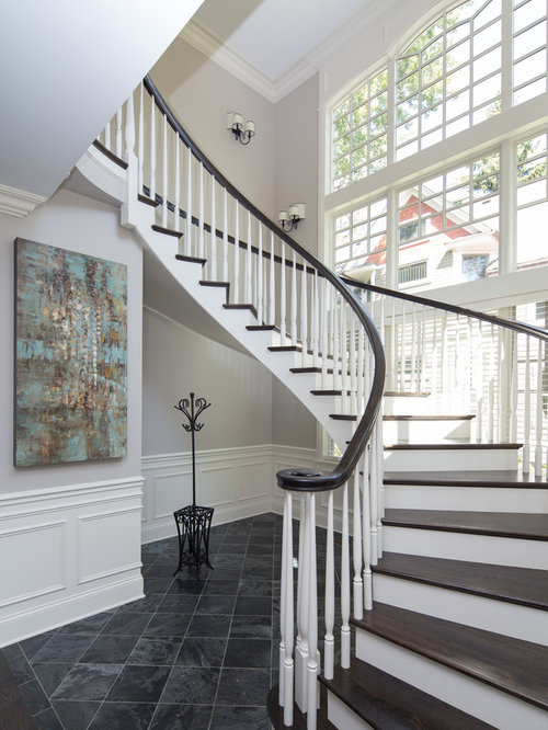 Two Toned Staircase Ideas Pictures Remodel And Decor
