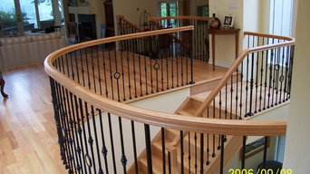 Custom Curved Stairs