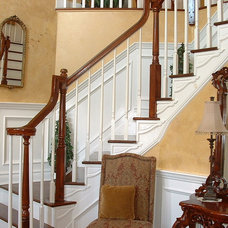 Traditional Staircase by Unique Technique Custom Painting & Faux Finishes