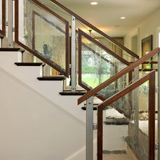 Contemporary Staircase by Duffy Design Group