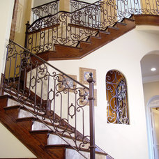 Mediterranean Staircase by Trinity Stairs, Inc.