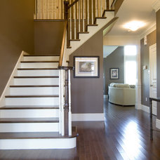 Traditional Staircase by Sawlor Built Homes