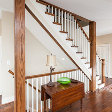 Traditional Staircase by Timberlake Design Build