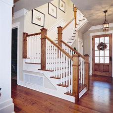 Traditional Staircase by Authentic Pine Floors, Inc.