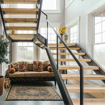 Custom Home Inspired by Client's Love of Barns