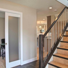 Contemporary Staircase by Milestone Homes