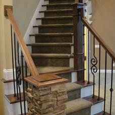 Staircase by Otero Signature Homes