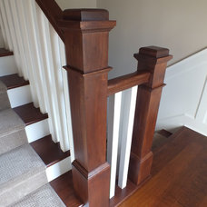 Craftsman Staircase by Otero Signature Homes