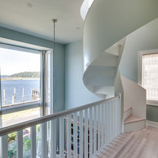 Beach Style Staircase by Stone Creek Builders