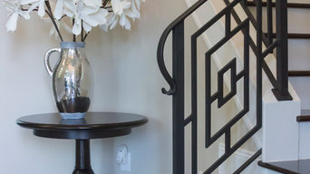 Custom Iron Staircase & Railing