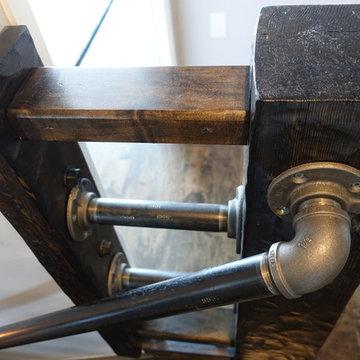 Custom Made Maple Stair Case