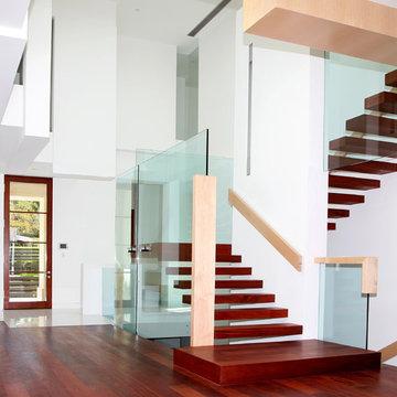 Custom Mahogany Floors