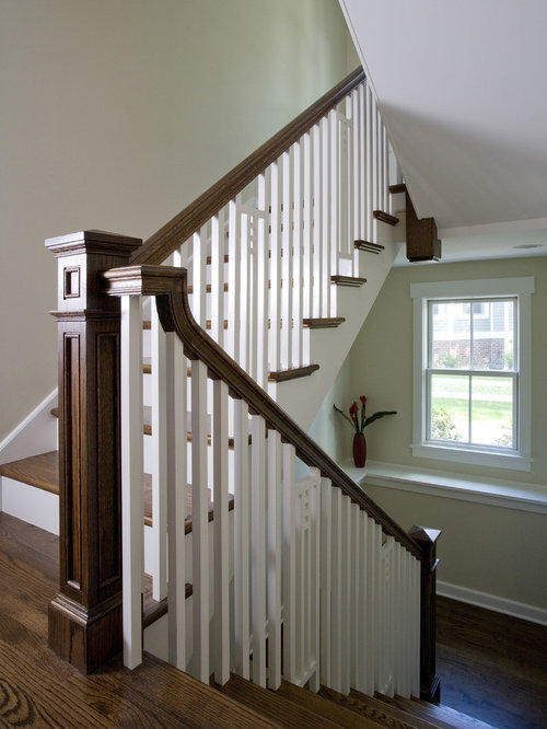 Craftsman Staircase Idea In Chicago