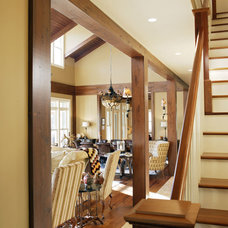 Traditional Staircase by Hansen Architects, P.C.