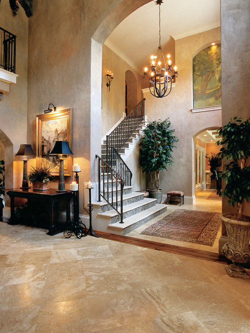 Mediterranean Home Design Photos Decor Ideas In Atlanta