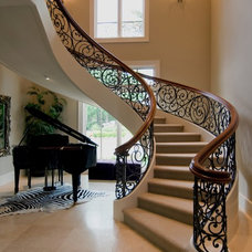Mediterranean Staircase by Donald Joseph Inc.